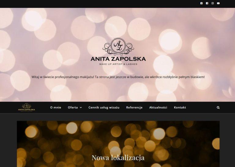 wizaż strona wordpress