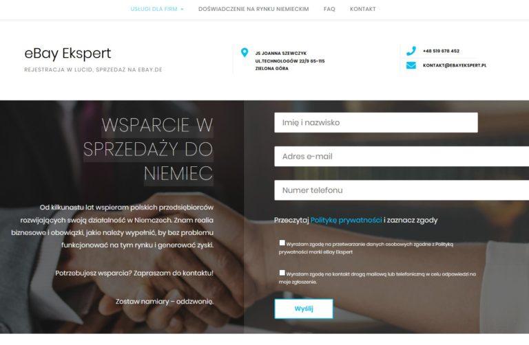 biznesowa strona wordpress