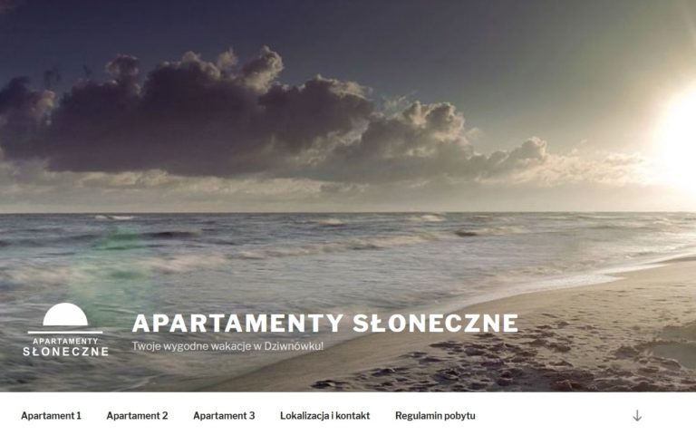 stona internetowa wordpress dla apartamentu